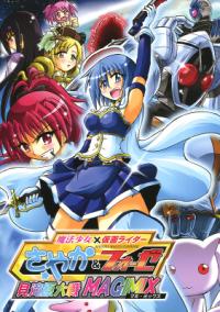 Mahou Shoujo Madoka★Magica - Magical Girl x Kamen Rider: Sayaka & Fourze (Doujinshi)