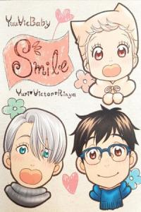 Yuri!!! on Ice dj: Smile