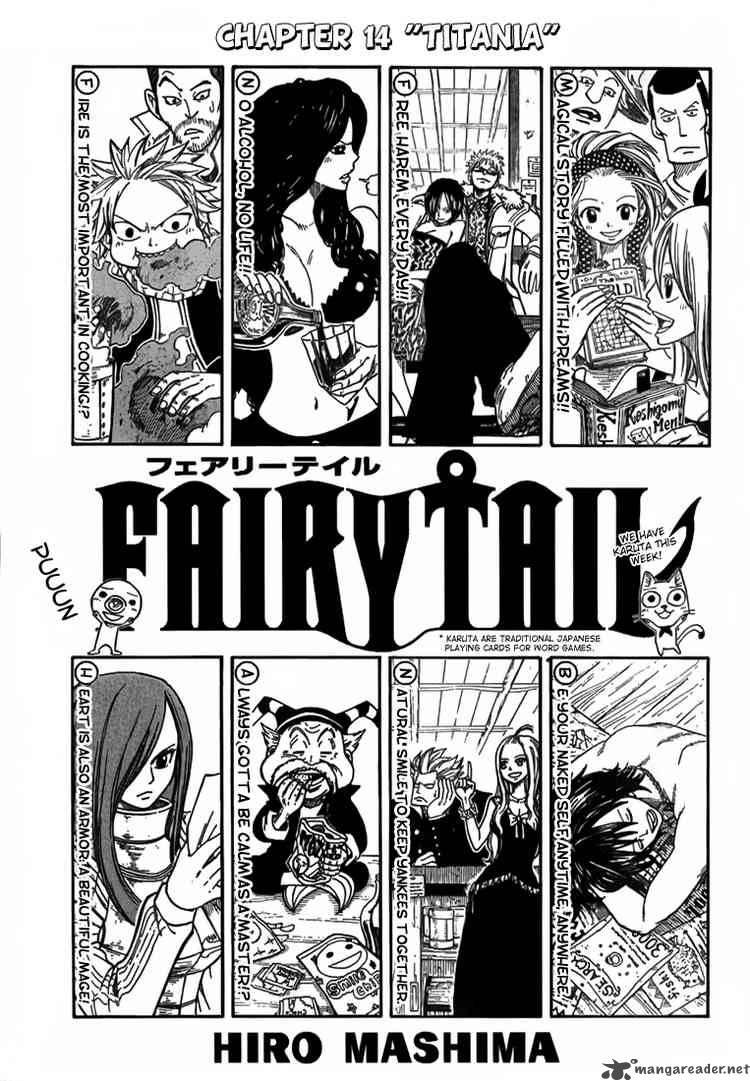 Fairy Tail Ch 14