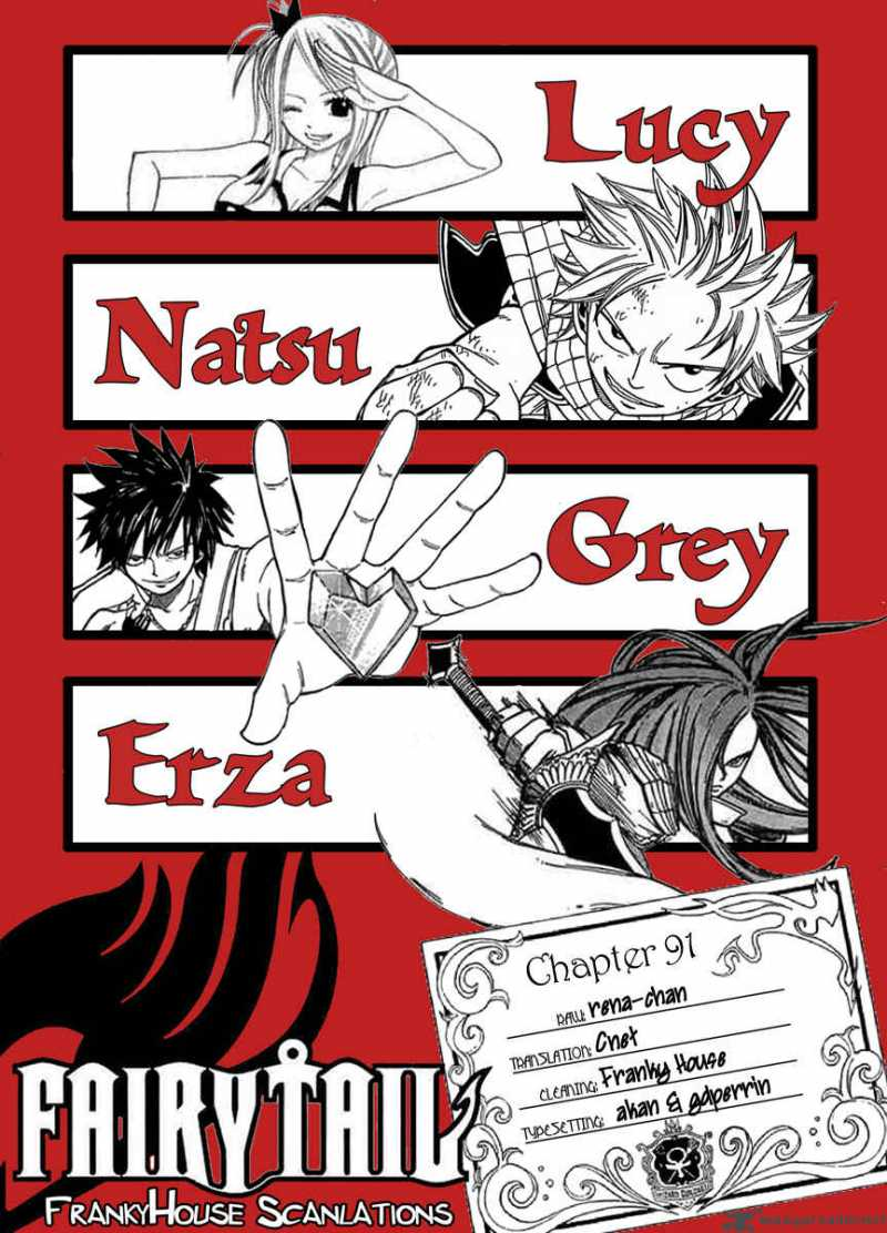 Fairy Tail - Chapter 91