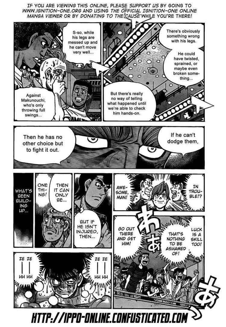 Hajime no Ippo - Chapter 890