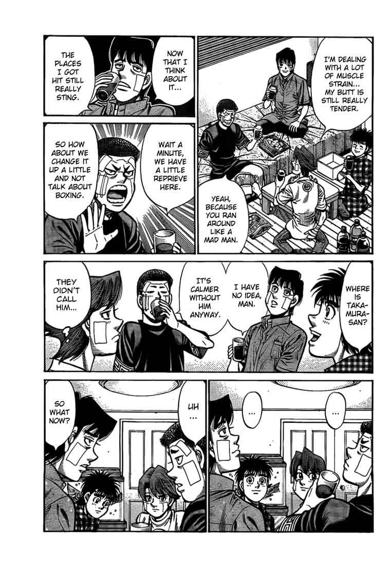 Hajime no Ippo - Chapter 913